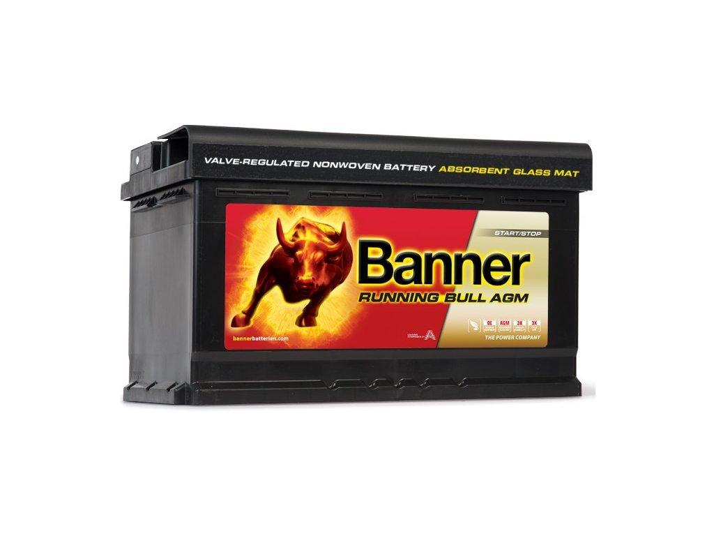 Autobaterie Banner Running Bull Start-Stop AGM 12V 92Ah 850A 59201