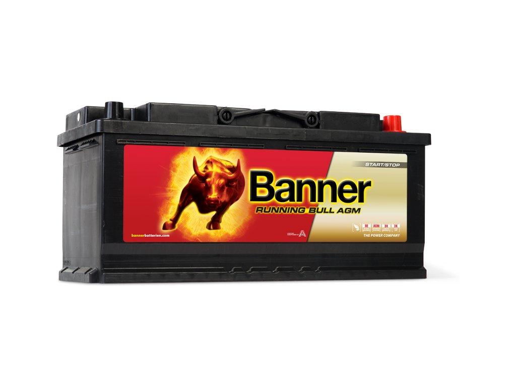 Autobaterie Banner Running Bull Start-Stop AGM 12V 105Ah 950A 60501