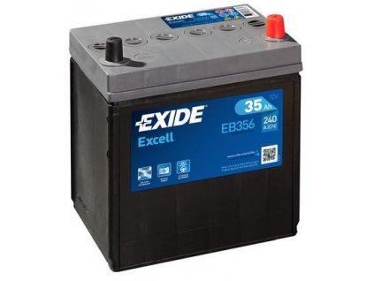 Exide 12V/35AH Excell EB-356