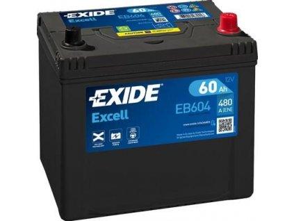 29955 exide 12v 60ah excell eb 604