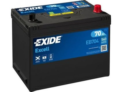 Exide 12V/70AH Excell EB-704