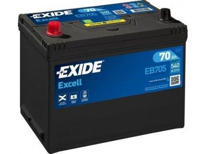 Exide 12V/70AH Excell EB-705