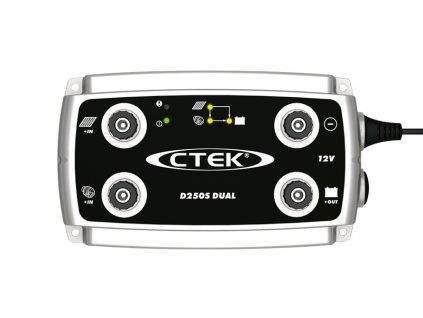Autonabíječka CTEK D250s Dual, 12V, 20A, 40-300 Ah