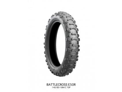 Bridgestone 140/80-18 E50 R 70P TT