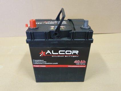 Autobaterie Alcor 12V 40Ah 300A 54019 Asia