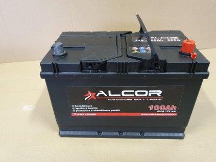 Autobaterie Alcor 12V 100Ah 740A 60040 Asia