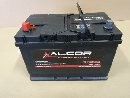 Autobaterie Alcor 12V 100Ah 740A 60041 Asia