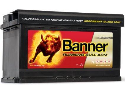Autobaterie Banner Running Bull Start-Stop AGM 12V 80Ah 800A 58001