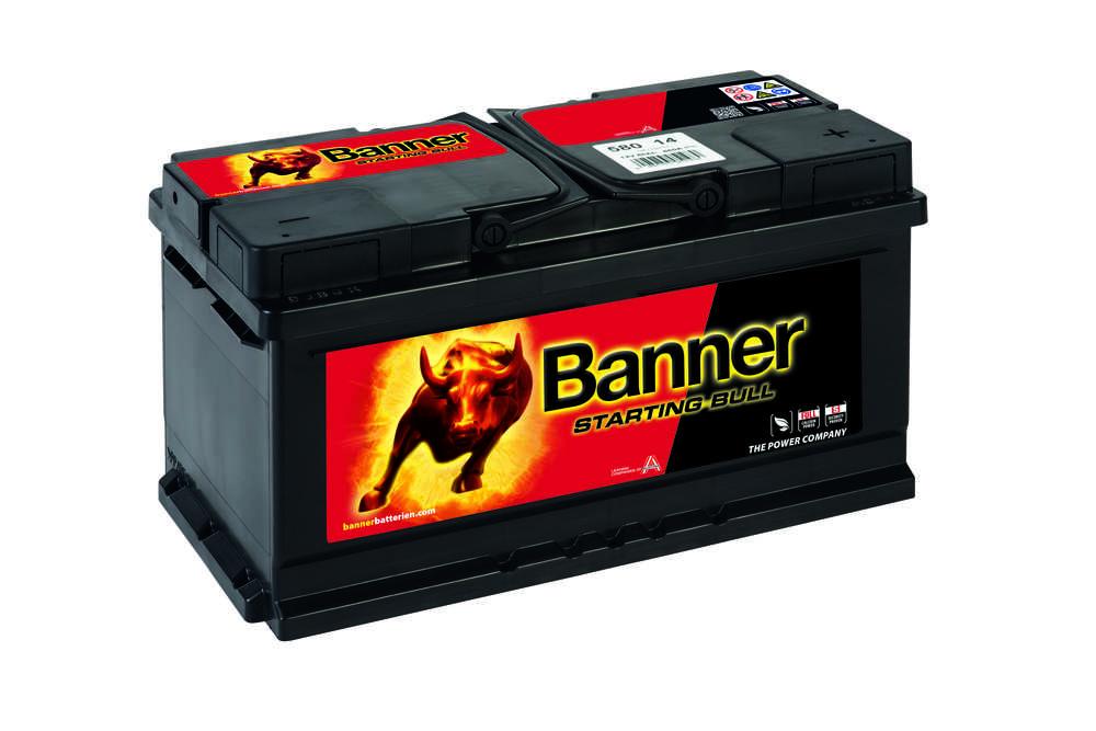 Autobaterie Banner Starting Bull 580 14, 80Ah, 12V ( 58014 )