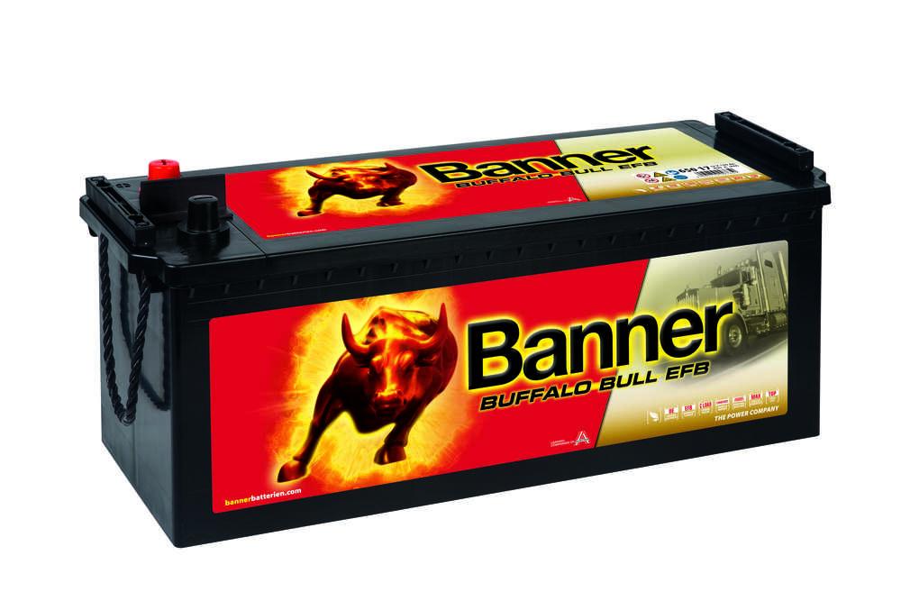 Autobaterie Banner Buffalo Bull EFB 650 17, 150Ah 12V V (65017)