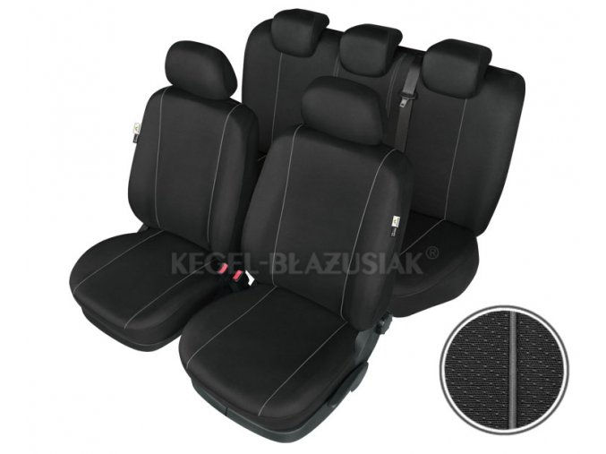 "Autopotah ""HERMES BLACK"" air bag rozmer L-ML"