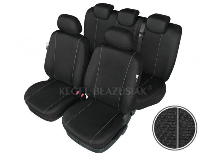 "Autopotah ""HERMES BLACK"" air bag rozmer XL-ML"