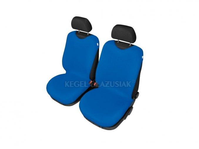 Autopotah triko na predni sedacky-modra