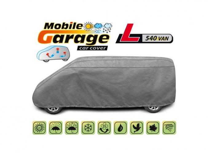 Autoplachta MOBILE GARAGE  L540 van
