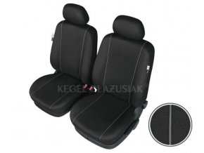 "AUTOPOTAH ""SCHMIDT"" na predni sedacky SEAT Arosa SOLID černá 2ks"