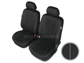 "AUTOPOTAH ""SCHMIDT"" na predni sedacky AUDI A4 1999-2008 (B5 facelift, B6, B7) SOLID černá 2ks"