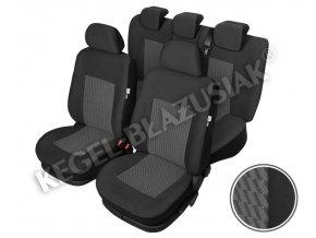 "AUTOPOTAH ""KEGEL"" SEAT Toledo IV od 2013  PERUN šedý  SADA 15 KS"