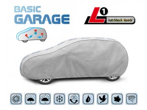 Plachta na auto BASIC GARAGE L1 hatchback/kombi