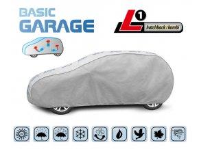 Plachta na auto BASIC GARAGE L1 hatchback/kombi