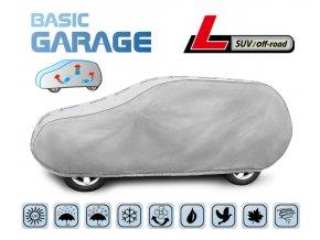 Plachta na auto BASIC GARAGE L suv-off-road