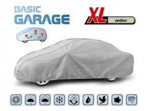 Plachta na auto BASIC GARAGE XL sedan