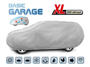 Plachta na auto BASIC GARAGE XL suv-off-road