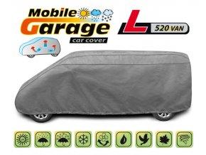 PLACHTA NA AUTO MOBILE GARAGE L 520 VAN