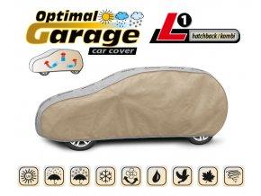 Plachta na auto OPTIMAL-GARAGE rozměr L1 Hatchback