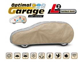 Plachta na auto OPTIMAL-GARAGE rozměr L2 hatchback/kombi