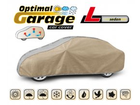 Plachta na auto OPTIMAL-GARAGE rozměr L sedan