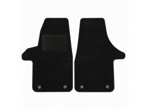 Koberce textilni ACR VW Amarok 2010- černá