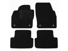Koberce textilni ACR VW Polo VI [AW] 2017- černá