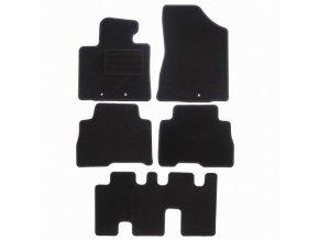 Koberce textilni ACR Kia Sorento II 2013-2015 černá