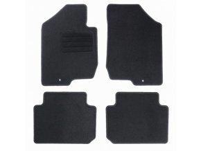 Koberce textilni ACR Kia Carens III 2006-2012 černá