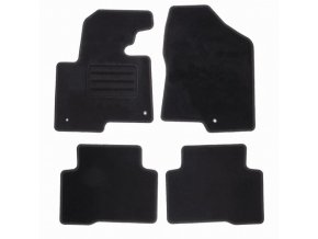 Koberce textilni ACR Hyundai Santa Fe III 2012-2018 černá