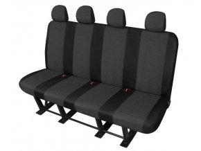 """Autopotah """" ARES DV4"""" pro užitkové vozy a mikrobusy - FORD Transit  - 4 MÍSTNÁ LAVICE"""