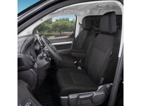 "AUTOPOTAH ""TAILOR MADE"" Toyota ProAce Verso II od 2016 CERNO-SEDY SADA 2 KS"