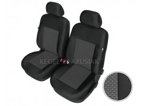 """AUTOPOTAH """"KEGEL"""" na predni sedacky BMW Serie 3 E-36 Apollo černo-šedý 4 ks"""
