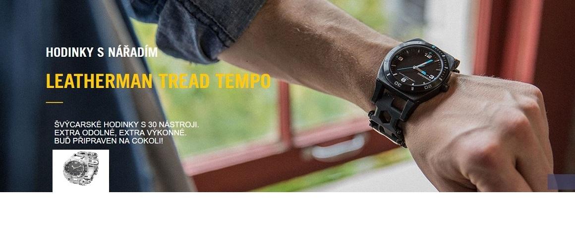 Leatherman multifunkční hodinky TREAD™ TEMPO