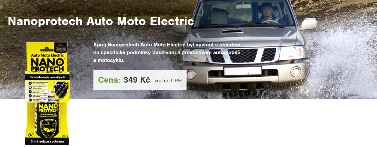 Nano protech auto moto electric