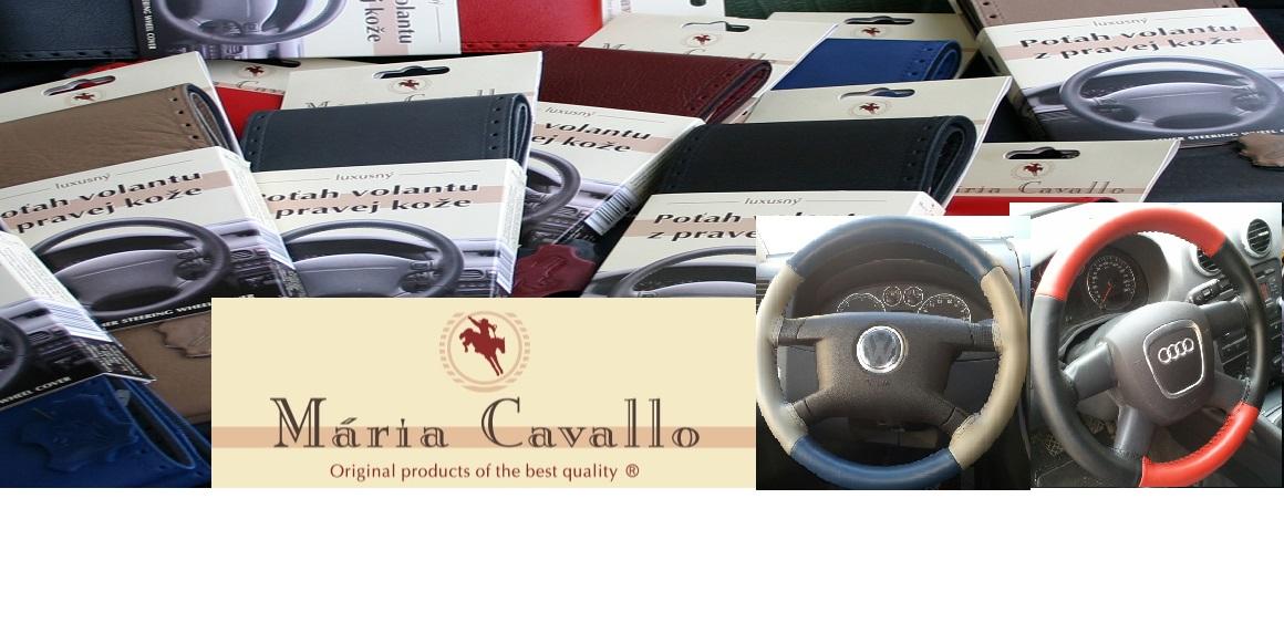 Mária Cavallo - kožené potahy volantu