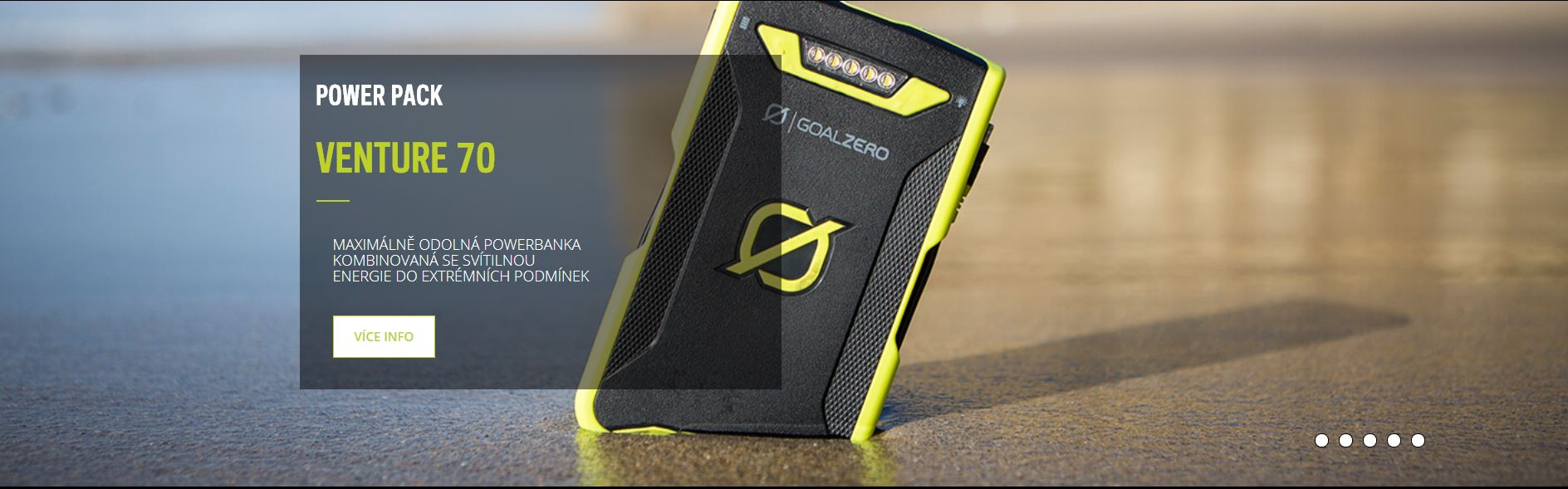 Venture 70 externí baterie
