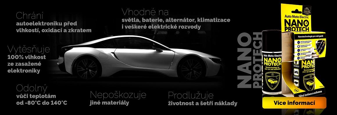 Nanoprotech Auto Moto Electric- pro motoristy