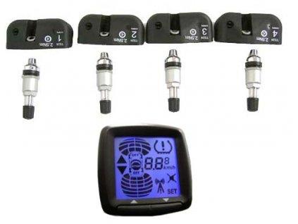 TPMS kontrola tlaku