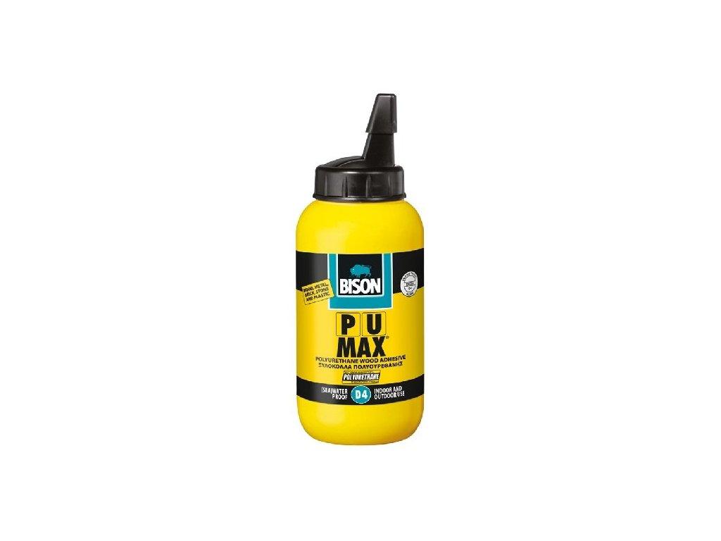 BISON PU MAX Vysokopevnostní polyuretanové lepidlo na dřevo D4 250 g
