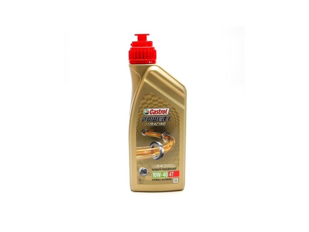 Castrol Power 1 Racing 4T 10W-40  motorový motocyklový olej 1L
