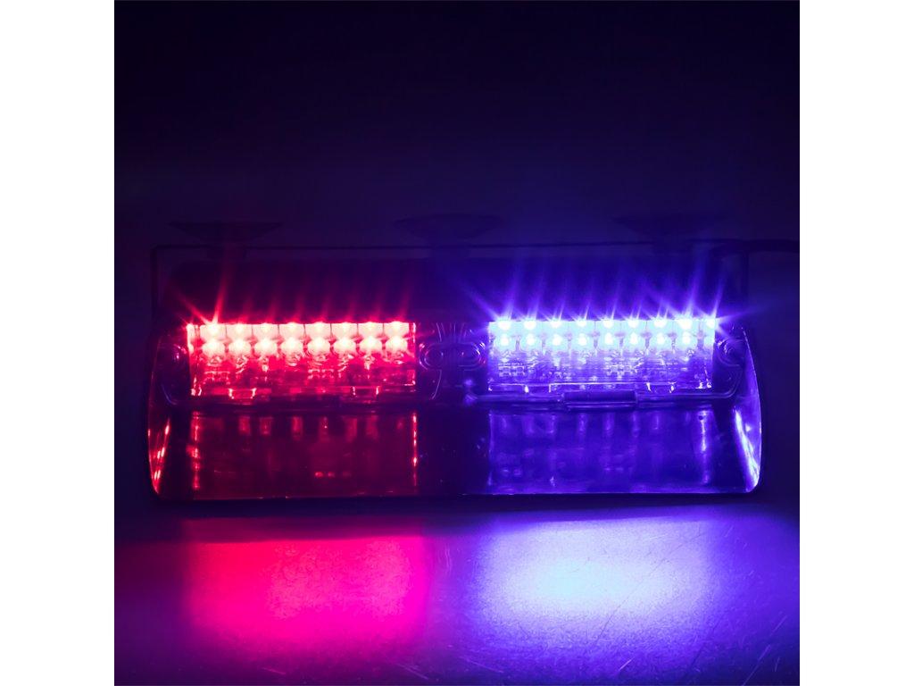 PREDATOR LED vnitřní, 16x LED 3W, 12V, modro-červený