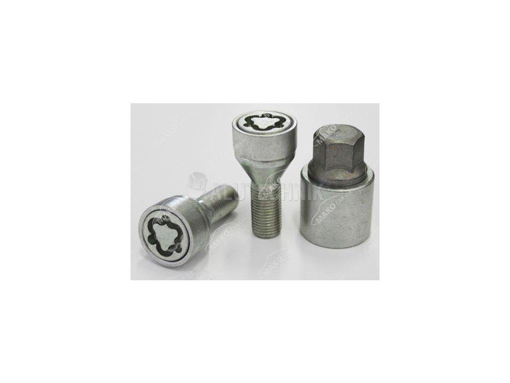 SICUSTAR VN322 pojistné šrouby M12x1,25x22 kužel, klíč 17