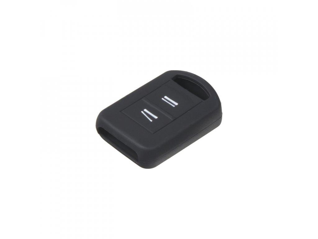 Silikonový obal pro klíč Opel 2-tlačítkový, černý