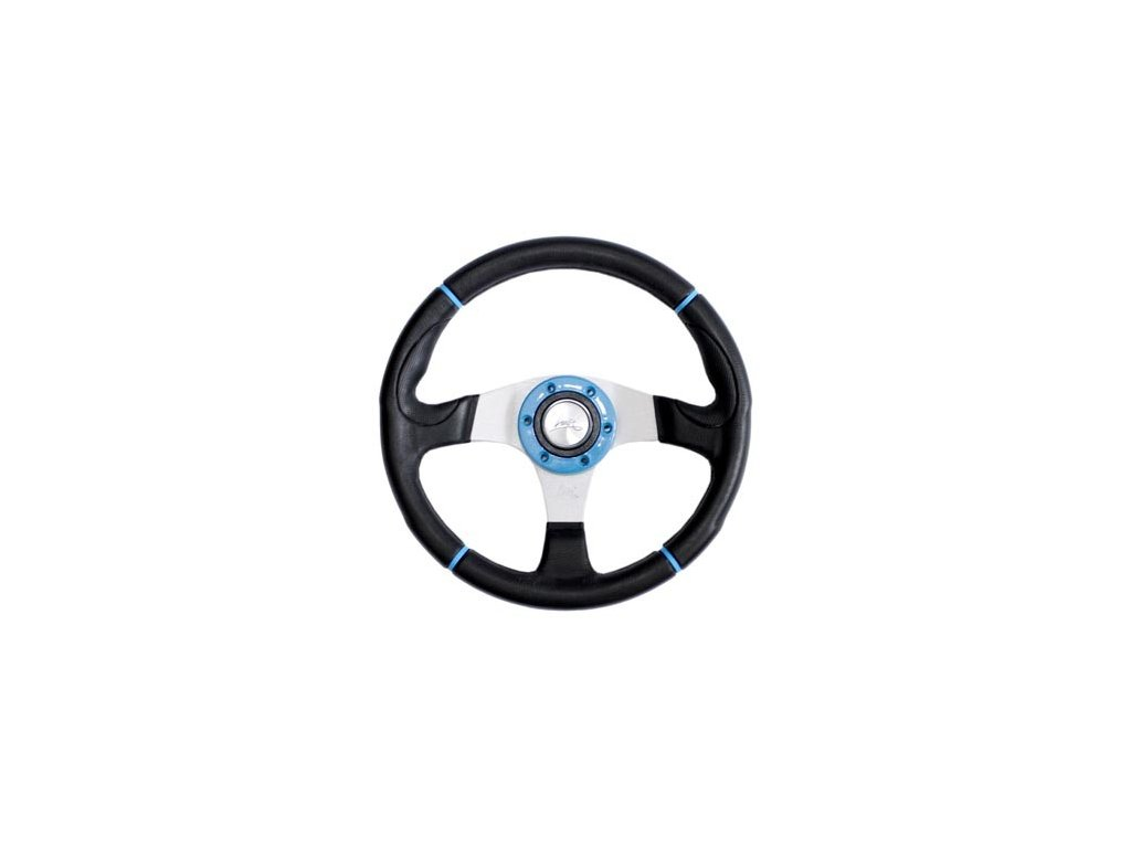 Sportovní volant LUISI -  Century sport modry 340mm